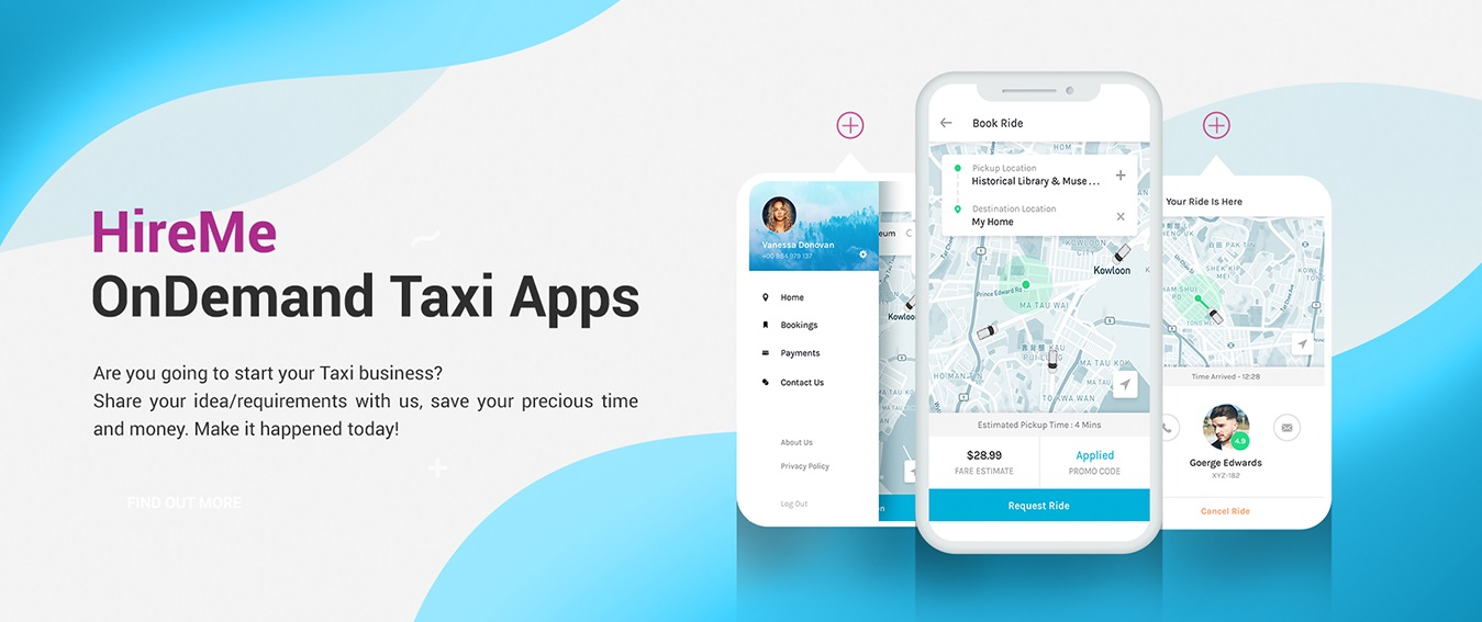 Uber Clone Source Code | Uber Clone Taxi App | Taxi App